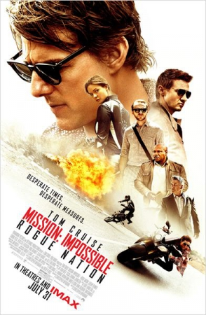 Смотреть трейлер Mission: Impossible - Rogue Nation (2015)