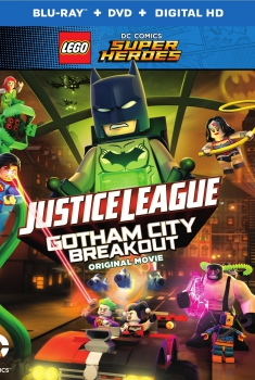 Смотреть трейлер Lego DC Comics Superheroes: Justice League – Gotham City Breakout (2016)